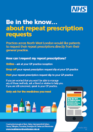 Be in the know about repeat prescriptions